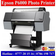 Epson P6000 Photo Enlargement Printers sale Colombo, Sri Lanka