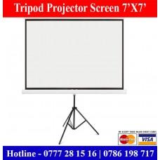 7X7 Tripod Projector Screens sale Price Colombo, Sri Lanka