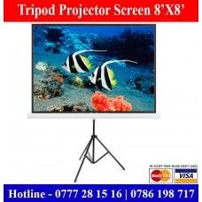 8x8 Tripod Projector Screens sale Price Colombo, Sri Lanka
